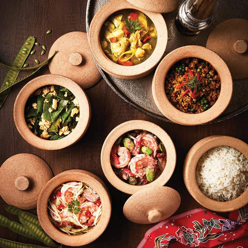 Sharing is Caring – Khantoke dining at The Height, Silavadee Pool Spa Resort, Koh Samui.