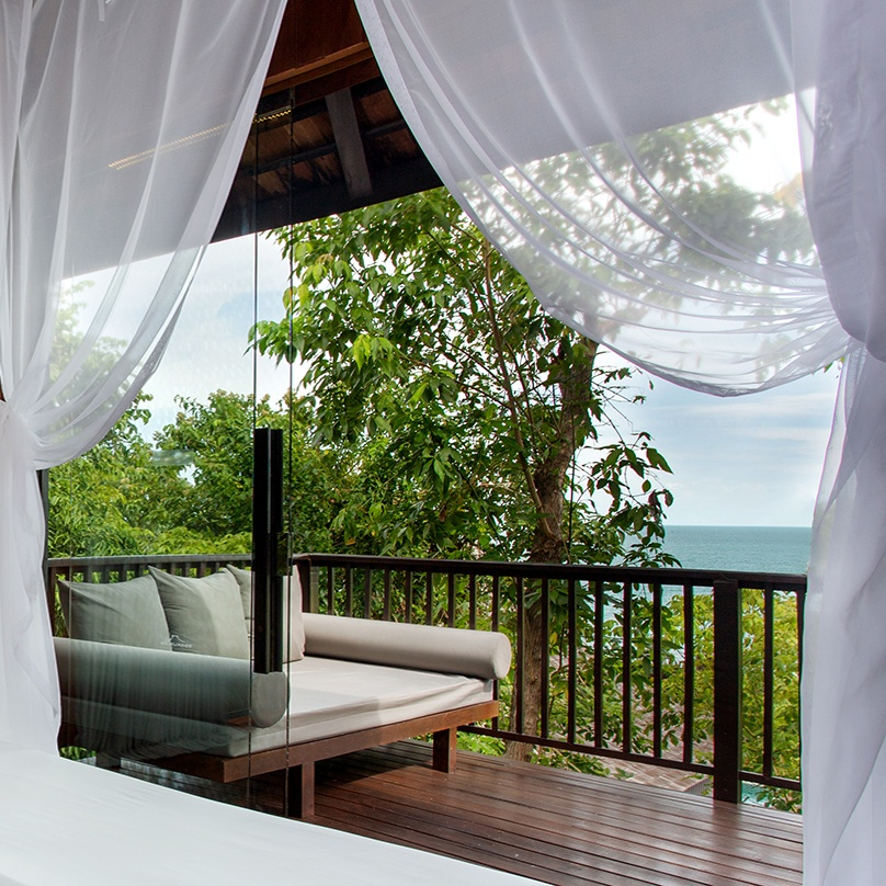 Two Bedroom Ocean View Duplex Pool Villa Spotlight