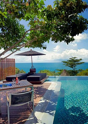 Scenic Ocean View Pool Villa Spotlight