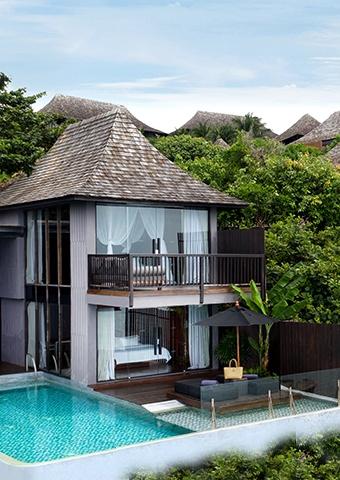 Two Bedroom Ocean Front Duplex Pool Villa Spotlight