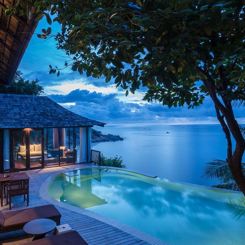 Ocean Front Pool Villa Suite 1