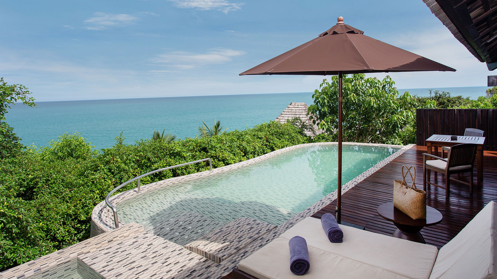 Scenic Ocean View Pool Villa Photo