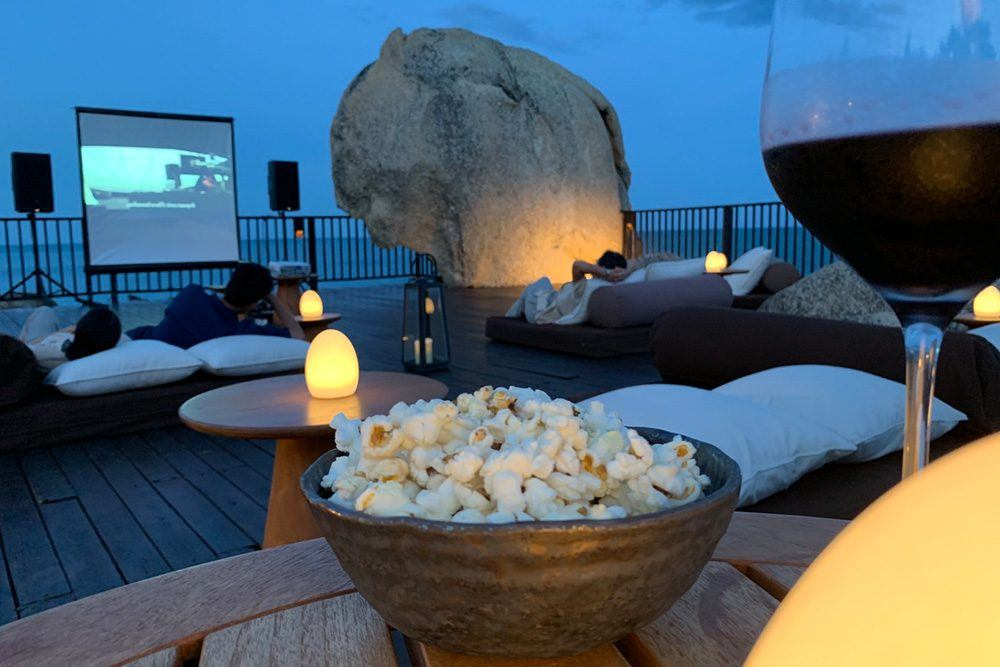 Movie Night at Sun Deck