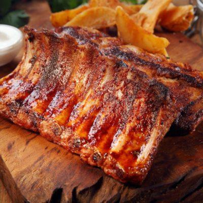 BBQ Pork Ribs – January's special