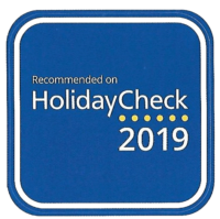Recommended on HolidayCheck 2019